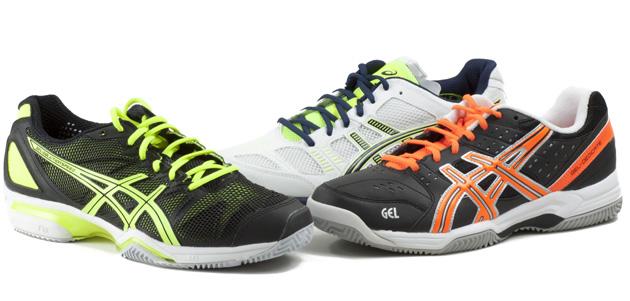 zapatillas asics padel dos colores