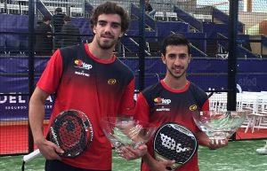 Cepero y Lebron campeones por parejas mundial pádel 2016